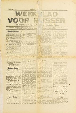 Weekblad voor Rijssen 1922-07-15