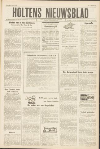 Holtens Nieuwsblad 1964-04-11