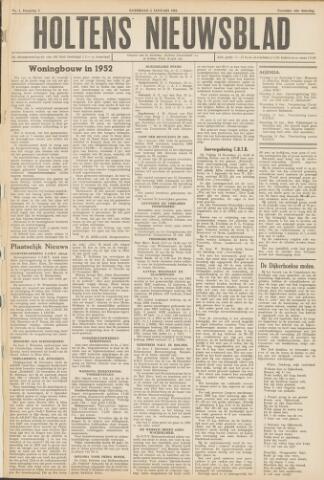 Holtens Nieuwsblad 1952-01-05