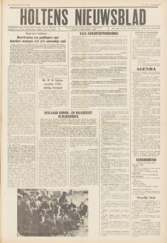 Holtens Nieuwsblad 1966-08-27