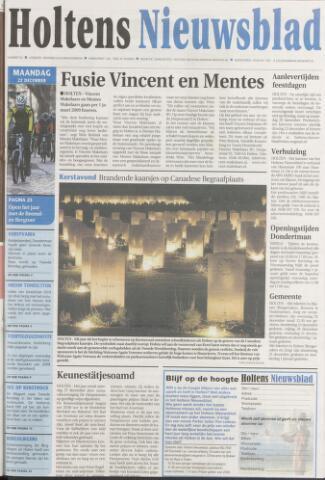 Holtens Nieuwsblad 2008-12-22