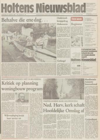 Holtens Nieuwsblad 1984-08-30