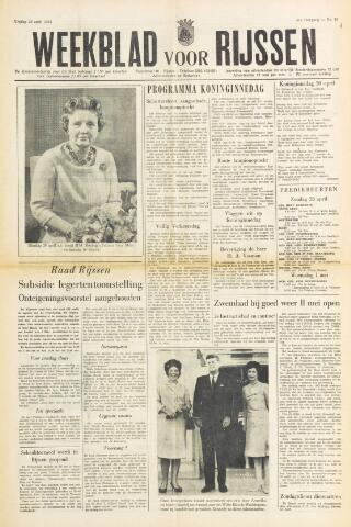 Weekblad voor Rijssen 1963-04-26