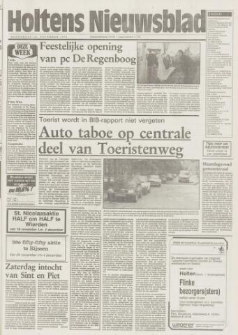 Holtens Nieuwsblad 1993-11-18