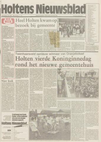 Holtens Nieuwsblad 1987-05-07