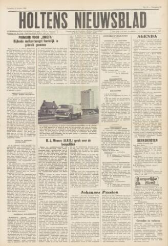 Holtens Nieuwsblad 1966-03-19
