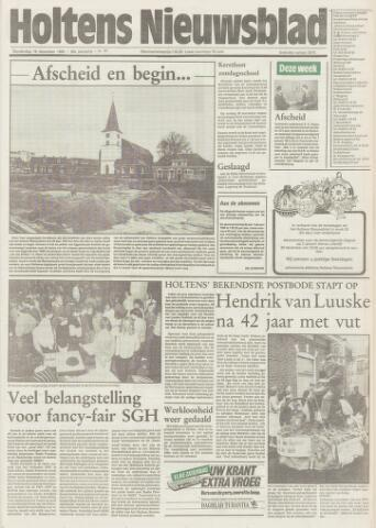 Holtens Nieuwsblad 1985-12-19