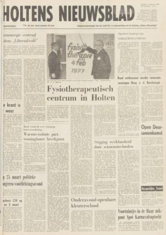 Holtens Nieuwsblad 1977-02-18