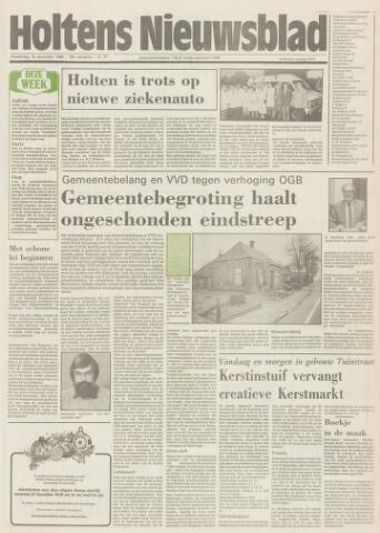 Holtens Nieuwsblad 1986-12-18