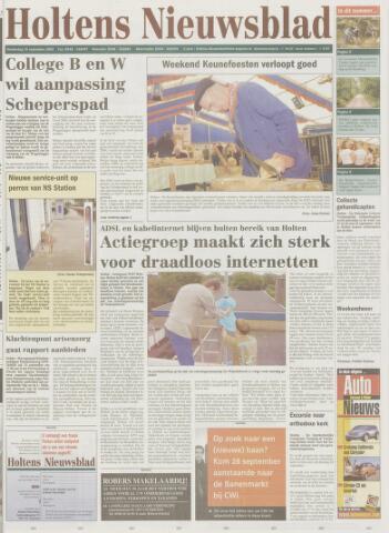 Holtens Nieuwsblad 2002-09-19