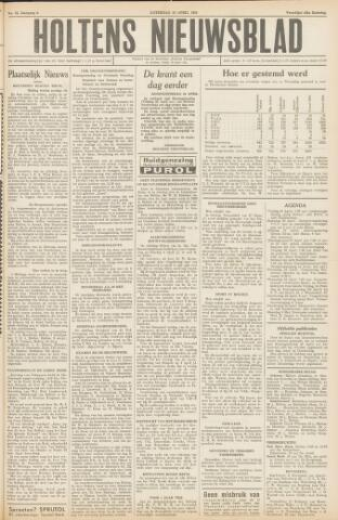 Holtens Nieuwsblad 1954-04-24