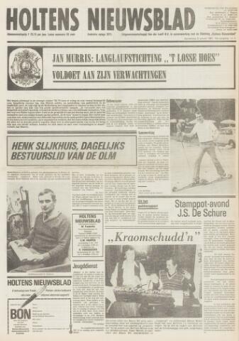Holtens Nieuwsblad 1981-01-22
