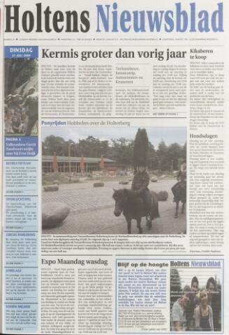 Holtens Nieuwsblad 2009-07-21