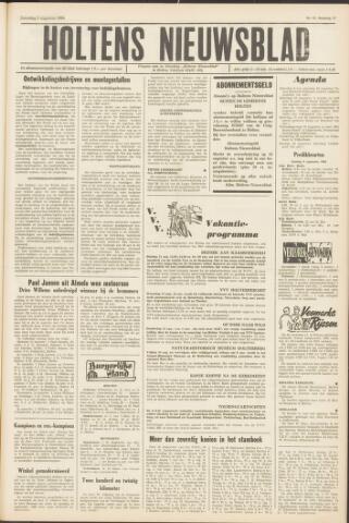 Holtens Nieuwsblad 1964-08-08