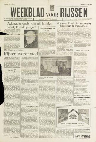 Weekblad voor Rijssen 1959-04-10