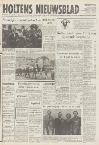 Holtens Nieuwsblad 1974-11-29