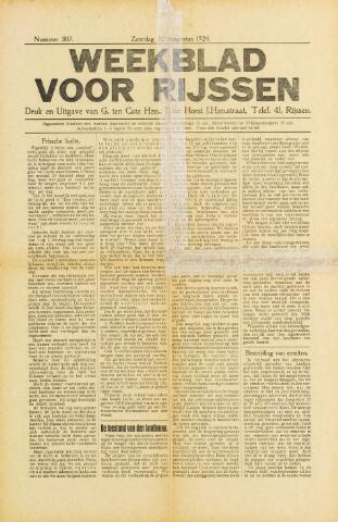 Weekblad voor Rijssen 1924-08-23