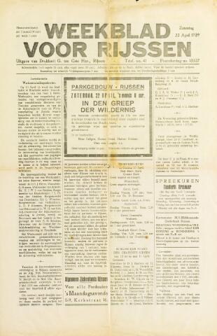 Weekblad voor Rijssen 1939-04-22