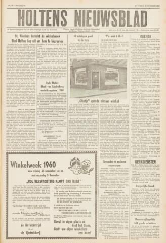 Holtens Nieuwsblad 1960-12-03