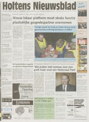 Holtens Nieuwsblad 2001-11-15
