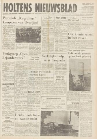 Holtens Nieuwsblad 1974-08-30