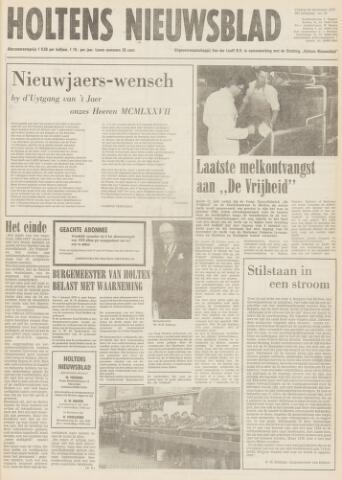 Holtens Nieuwsblad 1977-12-30