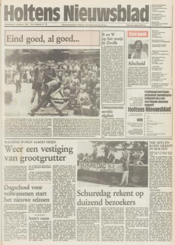 Holtens Nieuwsblad 1984-08-09
