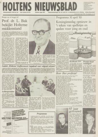 Holtens Nieuwsblad 1983-04-21