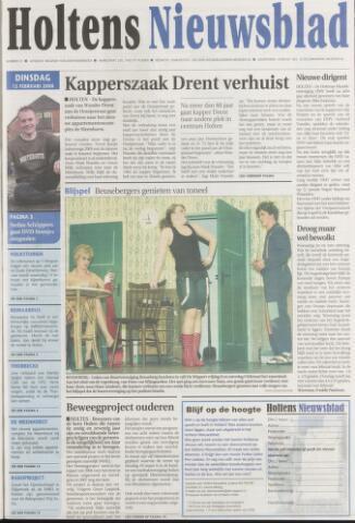 Holtens Nieuwsblad 2008-02-12