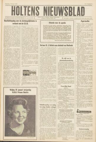 Holtens Nieuwsblad 1964-02-01