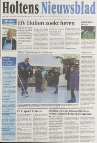 Holtens Nieuwsblad 2009-12-15