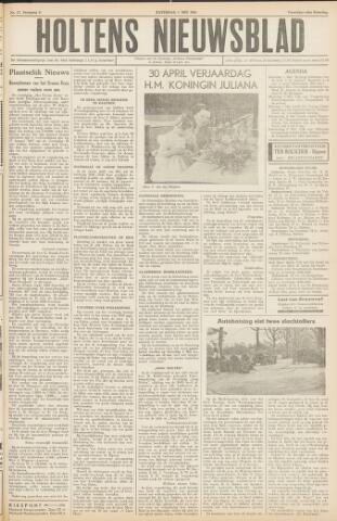 Holtens Nieuwsblad 1954-05-01