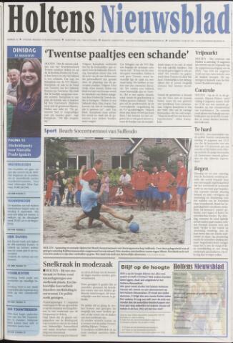 Holtens Nieuwsblad 2008-08-12