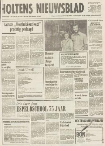 Holtens Nieuwsblad 1978-08-11