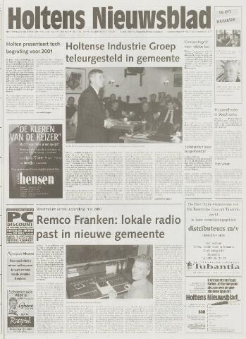Holtens Nieuwsblad 2000-10-26