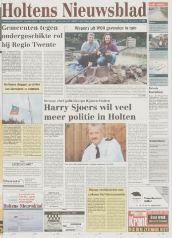 Holtens Nieuwsblad 2003-09-04