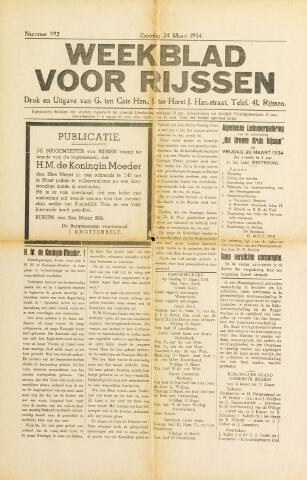 Weekblad voor Rijssen 1934-03-24