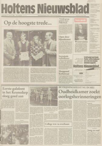 Holtens Nieuwsblad 1985-01-31