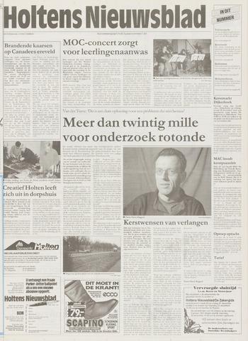 Holtens Nieuwsblad 1996-12-19