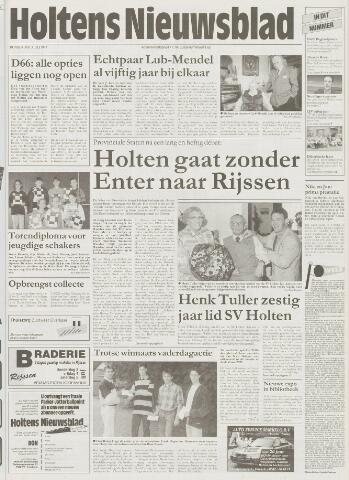 Holtens Nieuwsblad 1997-07-03