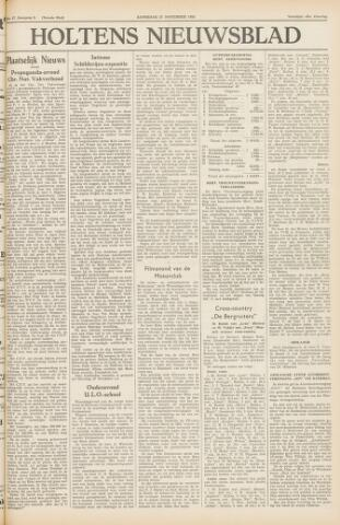 Holtens Nieuwsblad 1954-11-27