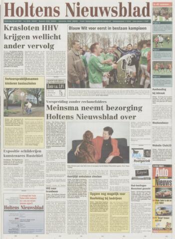 Holtens Nieuwsblad 2002-04-18