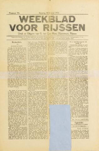 Weekblad voor Rijssen 1922-02-18