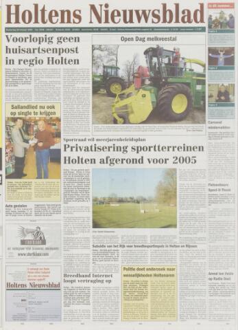 Holtens Nieuwsblad 2003-02-20