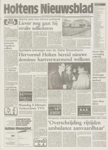 Holtens Nieuwsblad 1993-01-28