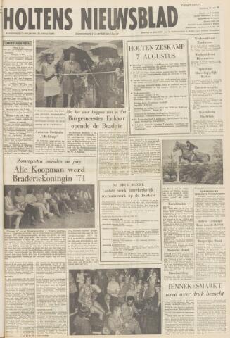 Holtens Nieuwsblad 1971-07-30