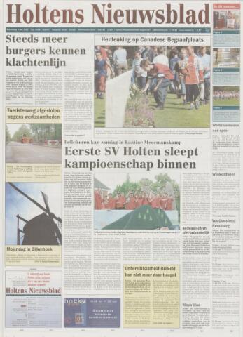 Holtens Nieuwsblad 2003-05-08