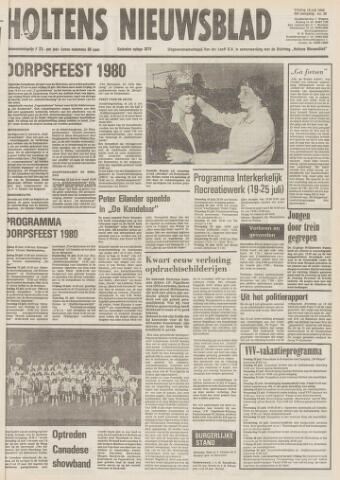 Holtens Nieuwsblad 1980-07-18