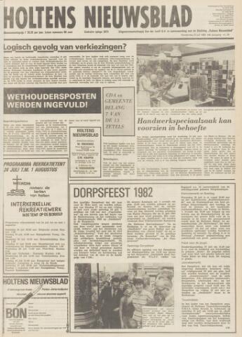 Holtens Nieuwsblad 1982-07-22