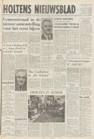 Holtens Nieuwsblad 1974-09-06